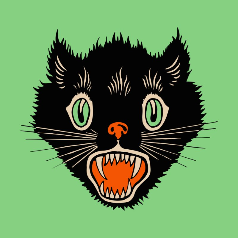 The Evil Cucumber Scared my Cat Women's Tank by mostro's Artist Shop
