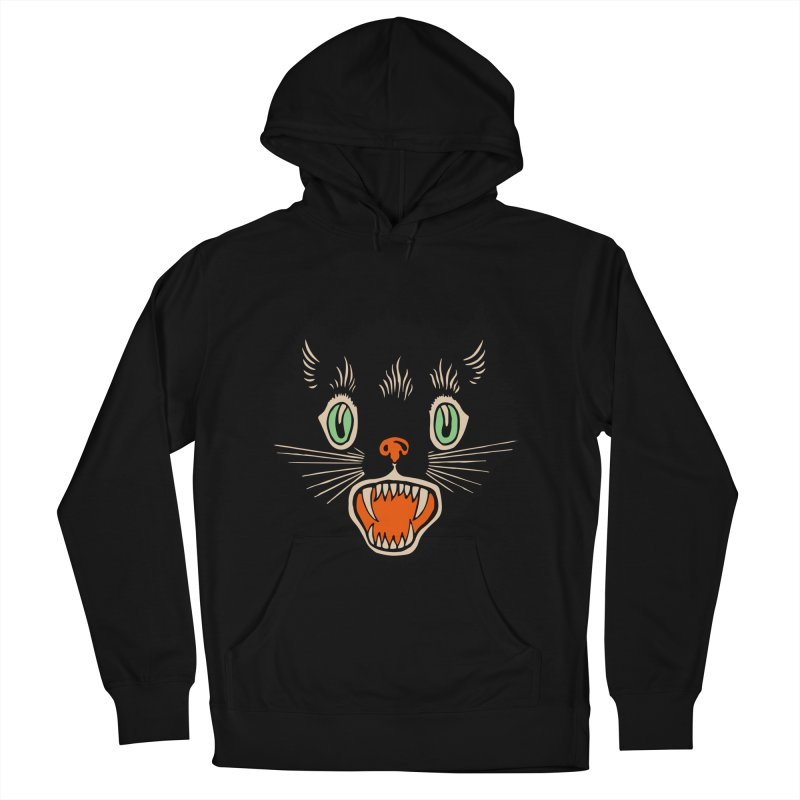 The Evil Cucumber Scared my Cat Women's French Terry Pullover Hoody by mostro's Artist Shop