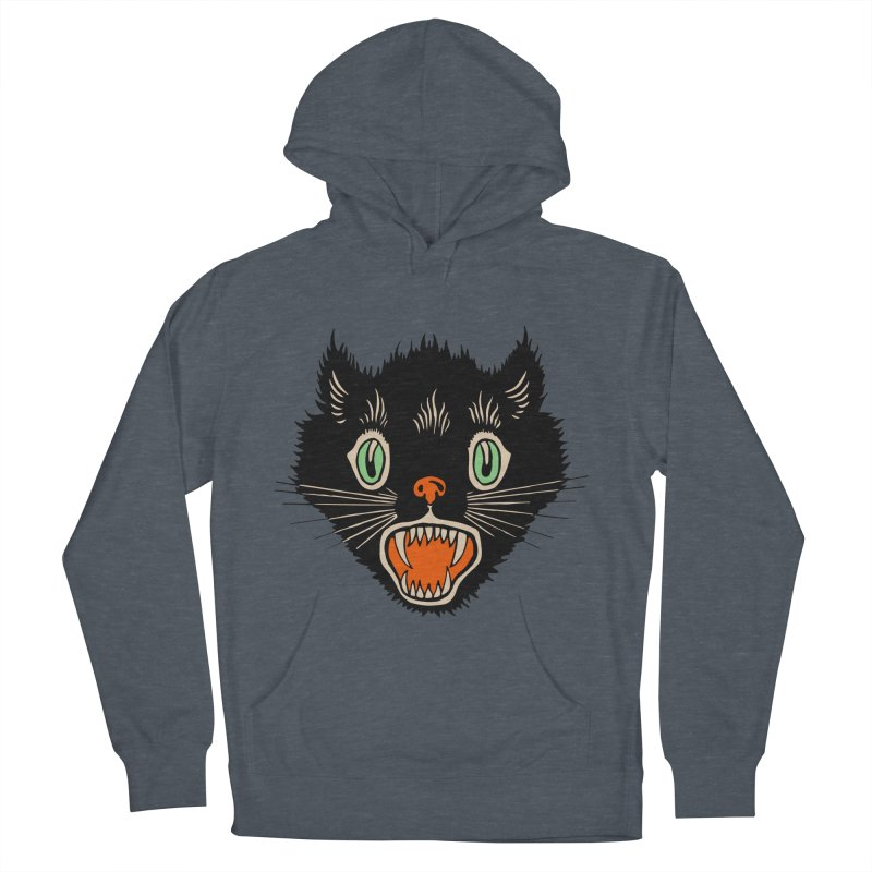 The Evil Cucumber Scared my Cat Men's Pullover Hoody by mostro's Artist Shop