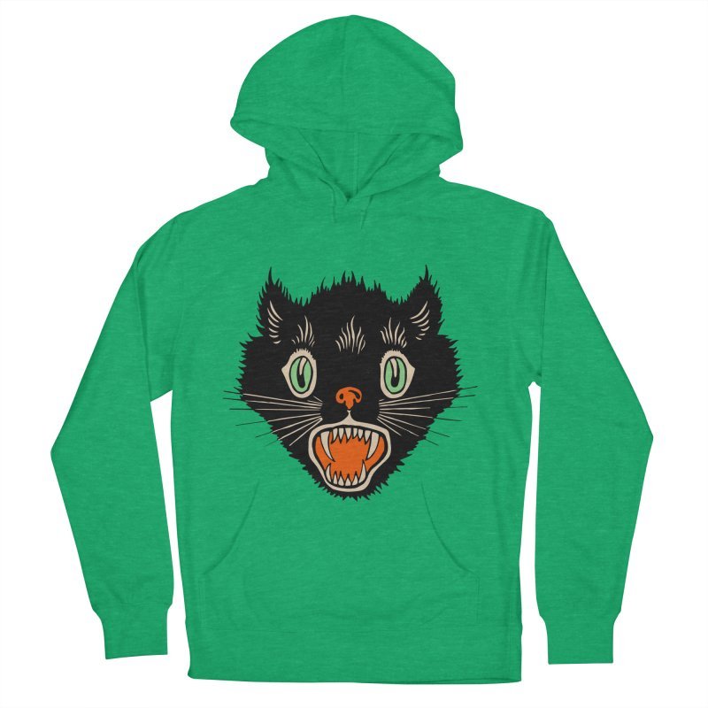 The Evil Cucumber Scared my Cat Men's French Terry Pullover Hoody by mostro's Artist Shop