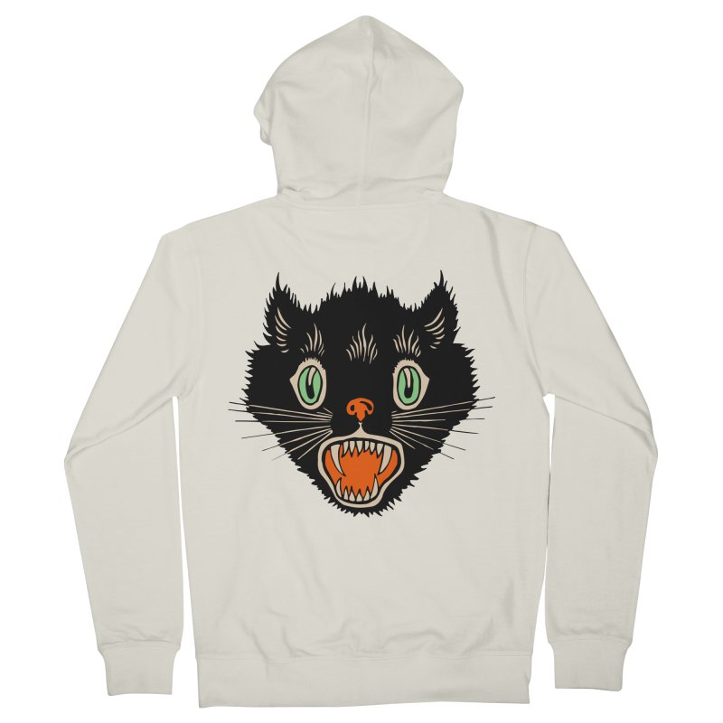 The Evil Cucumber Scared my Cat Men's Zip-Up Hoody by mostro's Artist Shop
