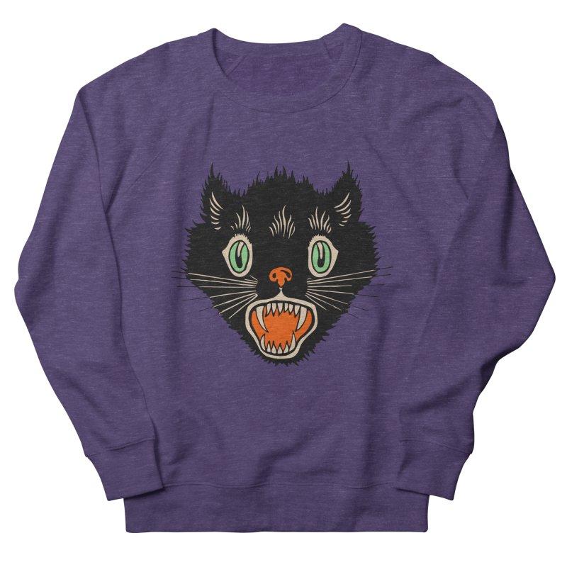 The Evil Cucumber Scared my Cat Women's Sweatshirt by mostro's Artist Shop