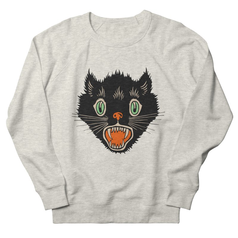 The Evil Cucumber Scared my Cat Men's Sweatshirt by mostro's Artist Shop