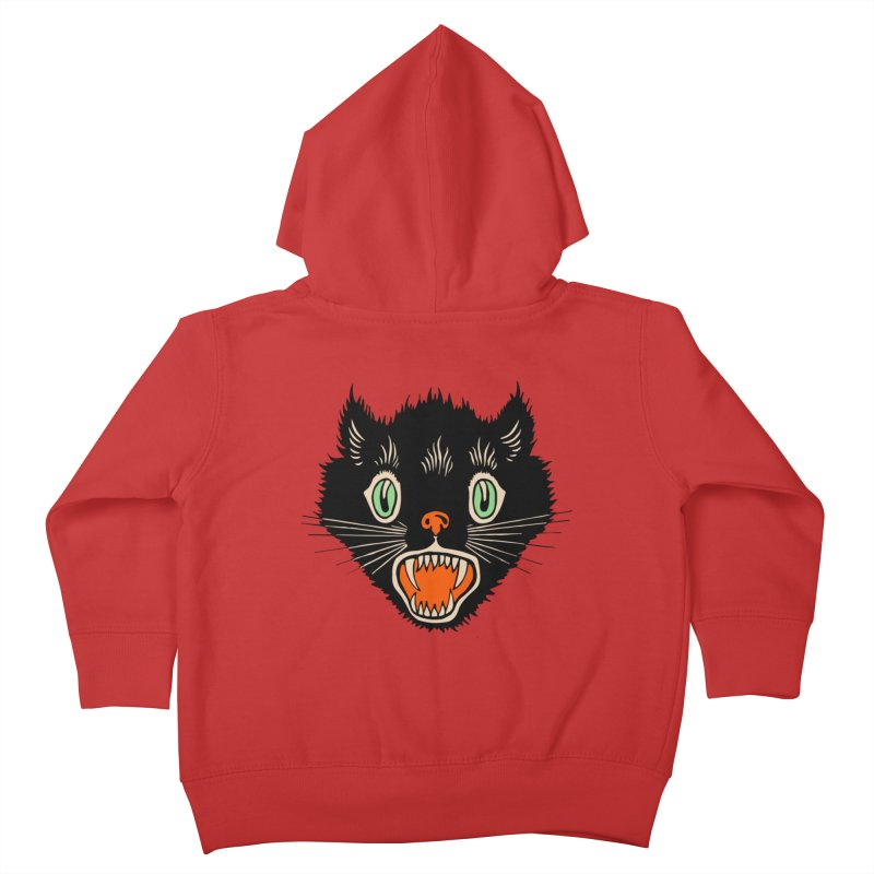 The Evil Cucumber Scared my Cat Kids Toddler Zip-Up Hoody by mostro's Artist Shop