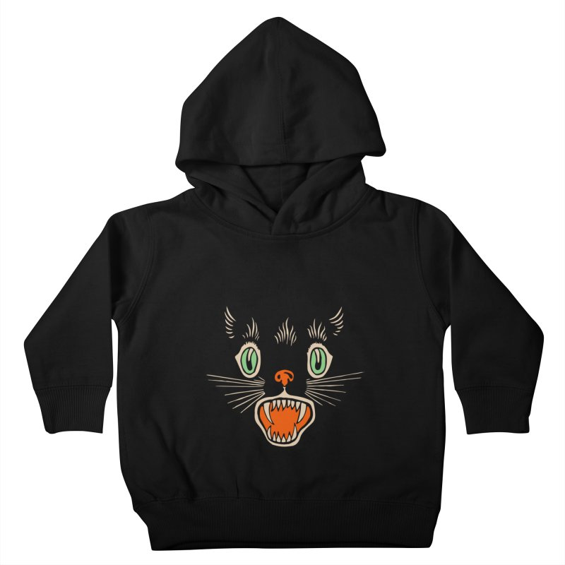 The Evil Cucumber Scared my Cat Kids Toddler Pullover Hoody by mostro's Artist Shop