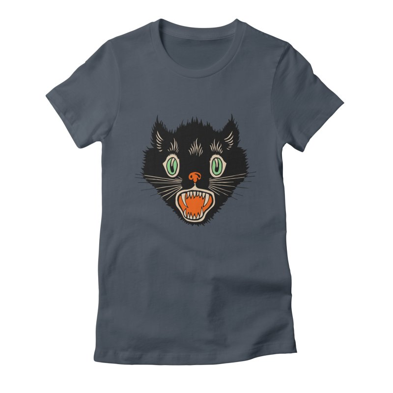 The Evil Cucumber Scared my Cat Women's T-Shirt by mostro's Artist Shop