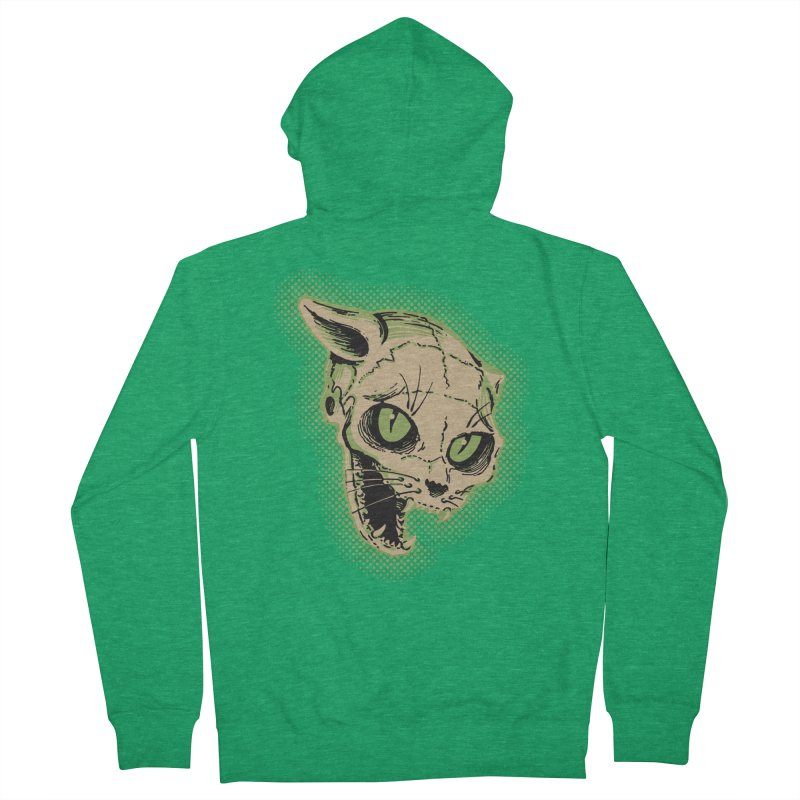 Starved Cat Women's Zip-Up Hoody by mostro's Artist Shop