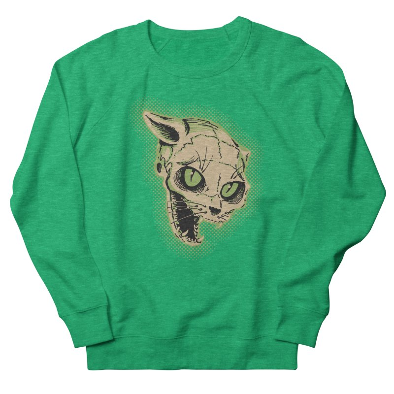 Starved Cat Women's Sweatshirt by mostro's Artist Shop