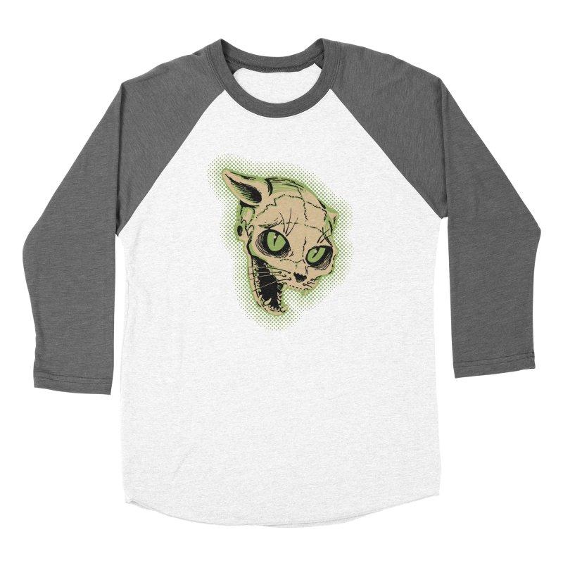 Starved Cat Women's Longsleeve T-Shirt by mostro's Artist Shop