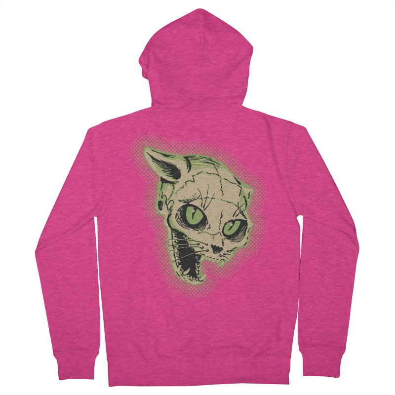 Starved Cat Women's French Terry Zip-Up Hoody by mostro's Artist Shop