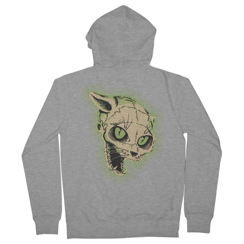 Starved Cat Men's French Terry Zip-Up Hoody by mostro's Artist Shop
