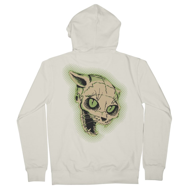 Starved Cat Men's Zip-Up Hoody by mostro's Artist Shop