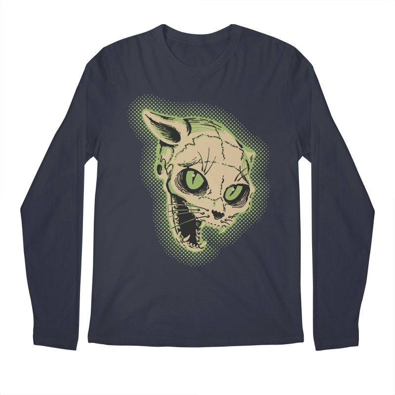 Starved Cat Men's Longsleeve T-Shirt by mostro's Artist Shop