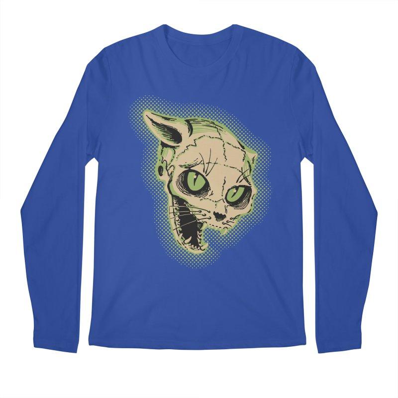Starved Cat Men's Regular Longsleeve T-Shirt by mostro's Artist Shop