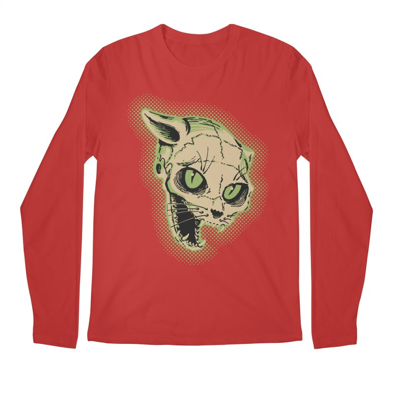 Starved Cat Men's Regular Longsleeve T-Shirt by mostro's Artist Shop