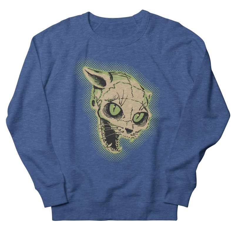 Starved Cat Women's French Terry Sweatshirt by mostro's Artist Shop