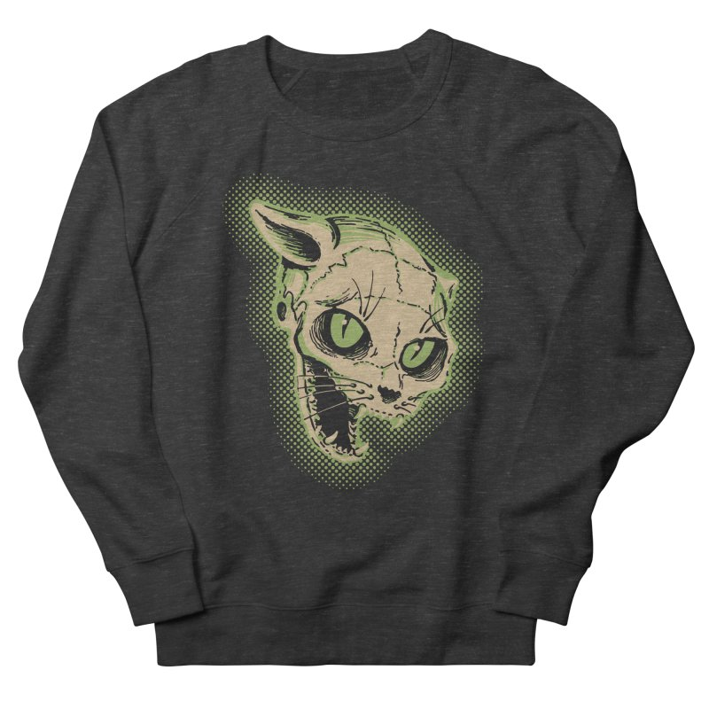 Starved Cat Men's French Terry Sweatshirt by mostro's Artist Shop