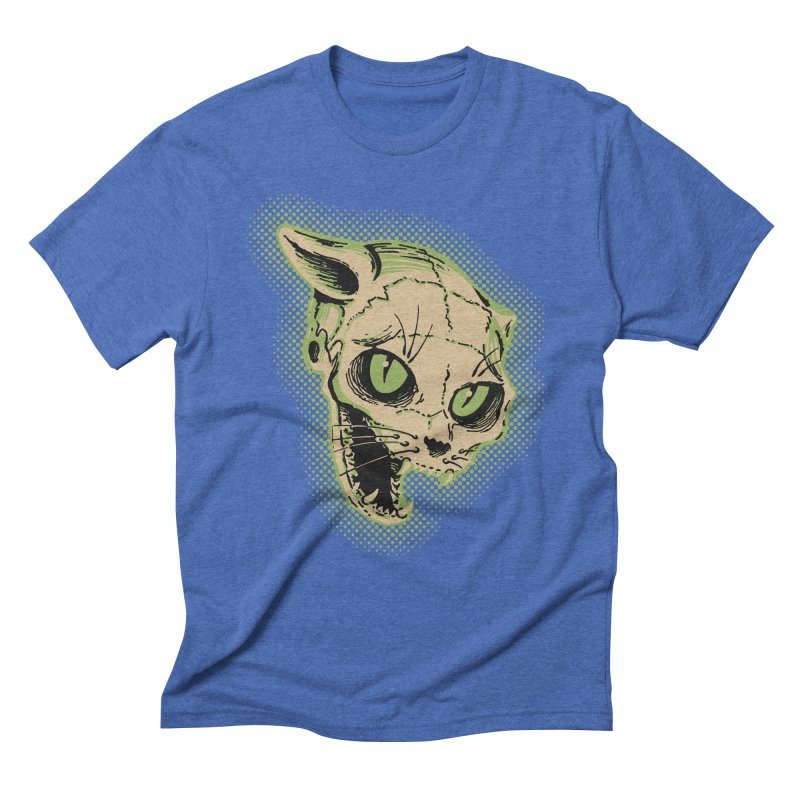 Starved Cat Men's Triblend T-Shirt by mostro's Artist Shop