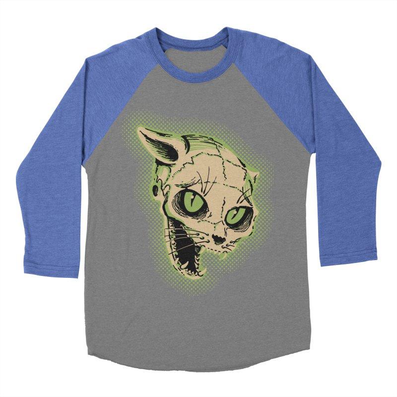 Starved Cat Women's Baseball Triblend Longsleeve T-Shirt by mostro's Artist Shop