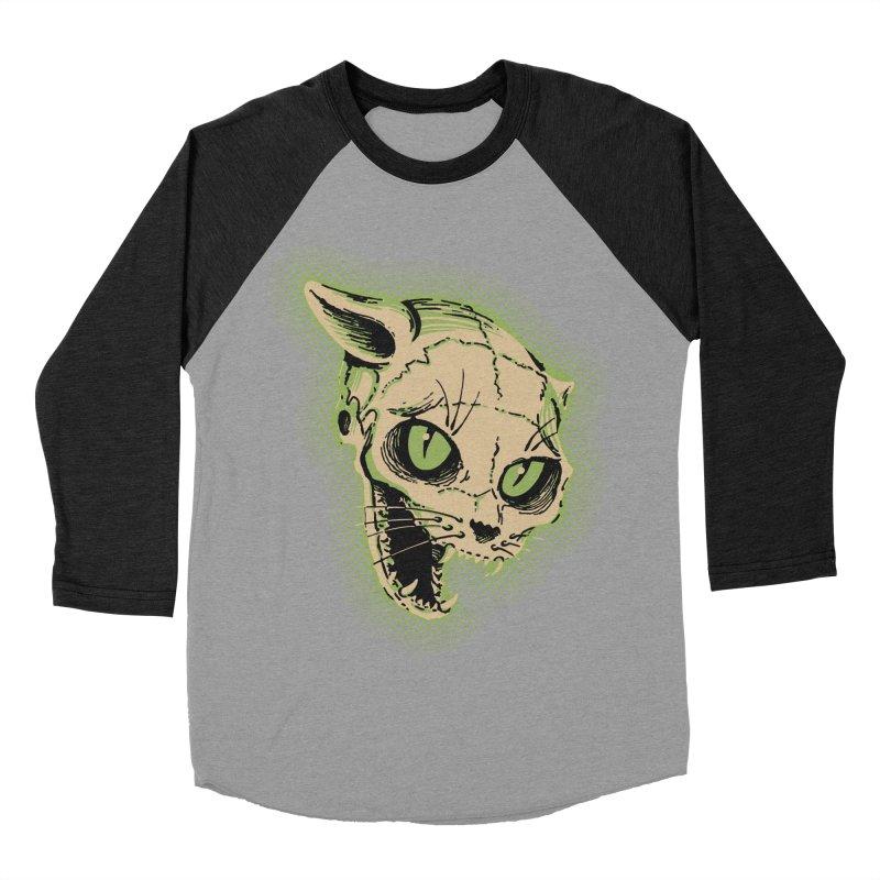Starved Cat Women's Baseball Triblend T-Shirt by mostro's Artist Shop