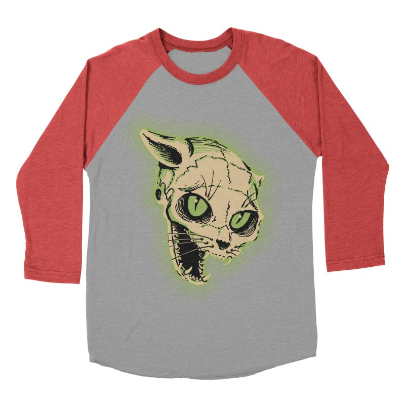 Starved Cat Men's Baseball Triblend T-Shirt by mostro's Artist Shop
