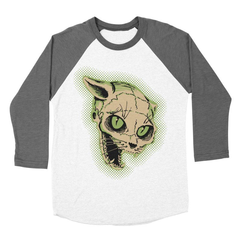 Starved Cat Men's Baseball Triblend Longsleeve T-Shirt by mostro's Artist Shop