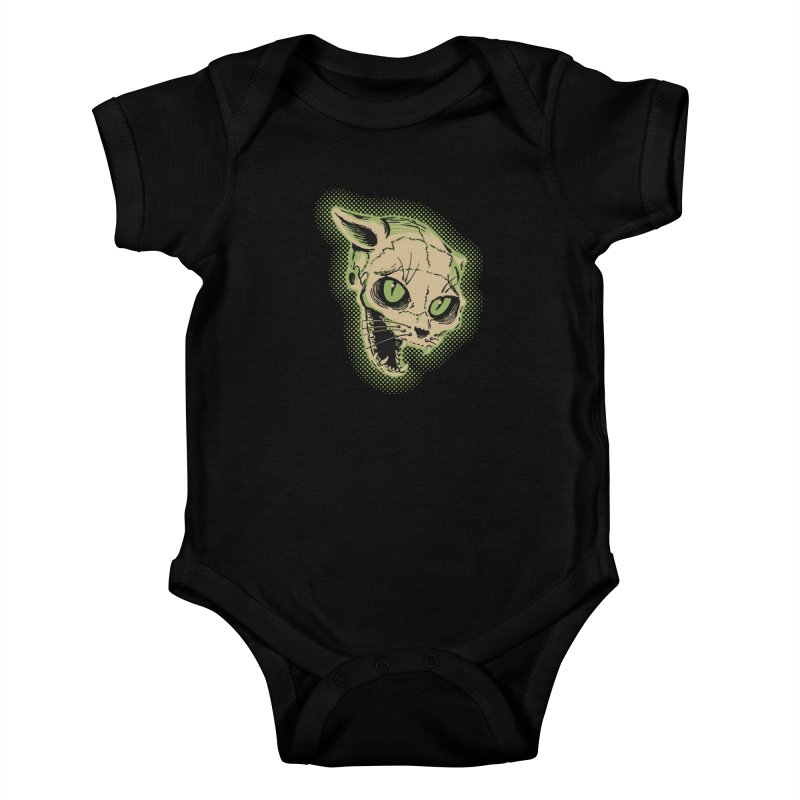 Starved Cat Kids Baby Bodysuit by mostro's Artist Shop