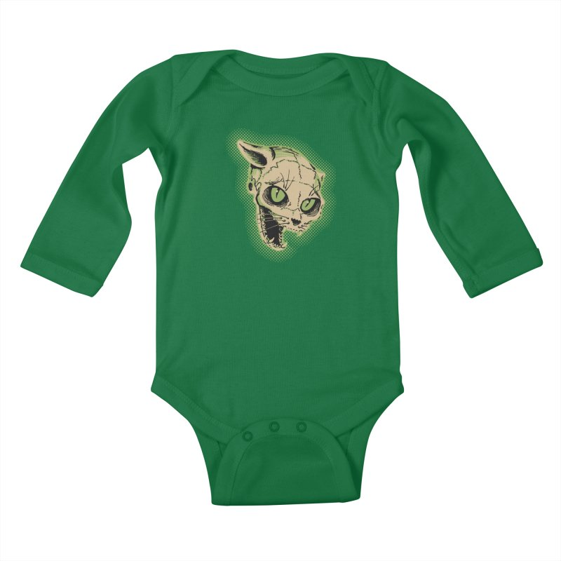Starved Cat Kids Baby Longsleeve Bodysuit by mostro's Artist Shop