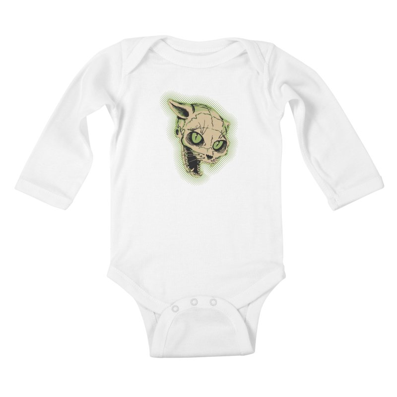 Starved Cat Kids Baby Longsleeve Bodysuit by mostro's Artist Shop