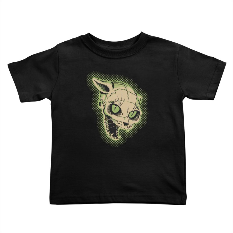 Starved Cat Kids Toddler T-Shirt by mostro's Artist Shop