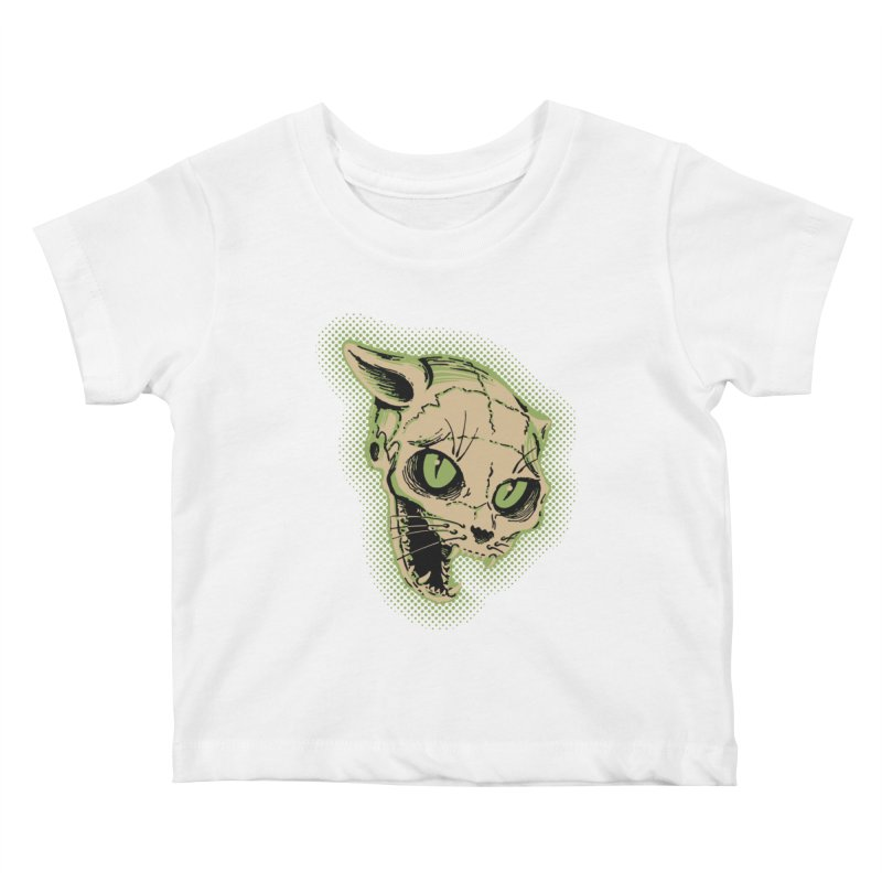 Starved Cat Kids Baby T-Shirt by mostro's Artist Shop