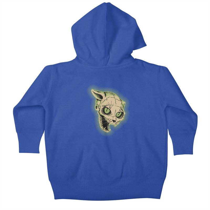 Starved Cat Kids Baby Zip-Up Hoody by mostro's Artist Shop