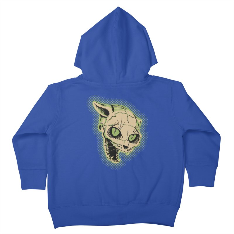 Starved Cat Kids Toddler Zip-Up Hoody by mostro's Artist Shop