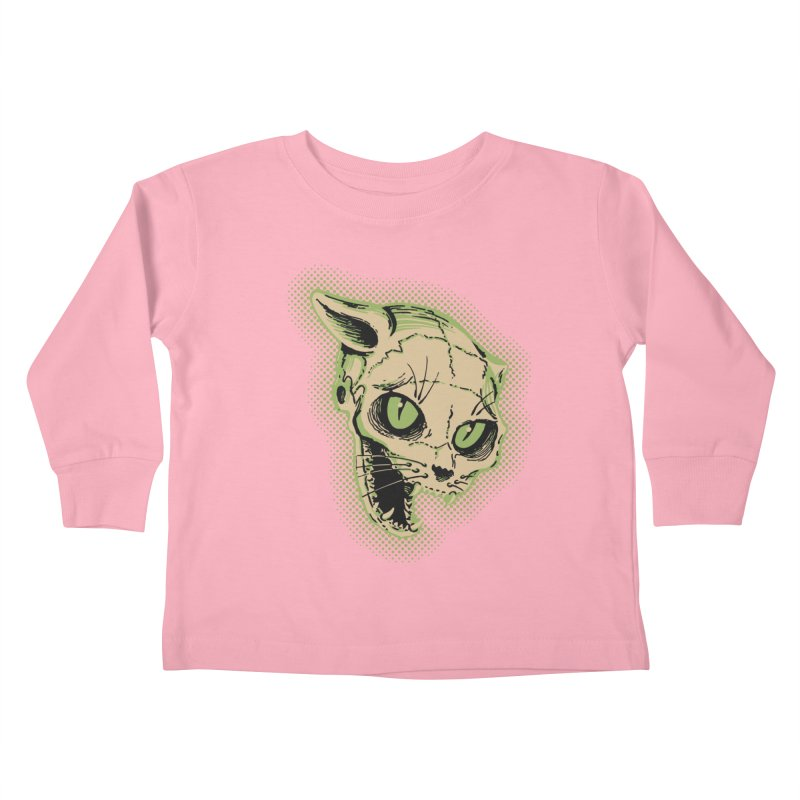 Starved Cat Kids Toddler Longsleeve T-Shirt by mostro's Artist Shop