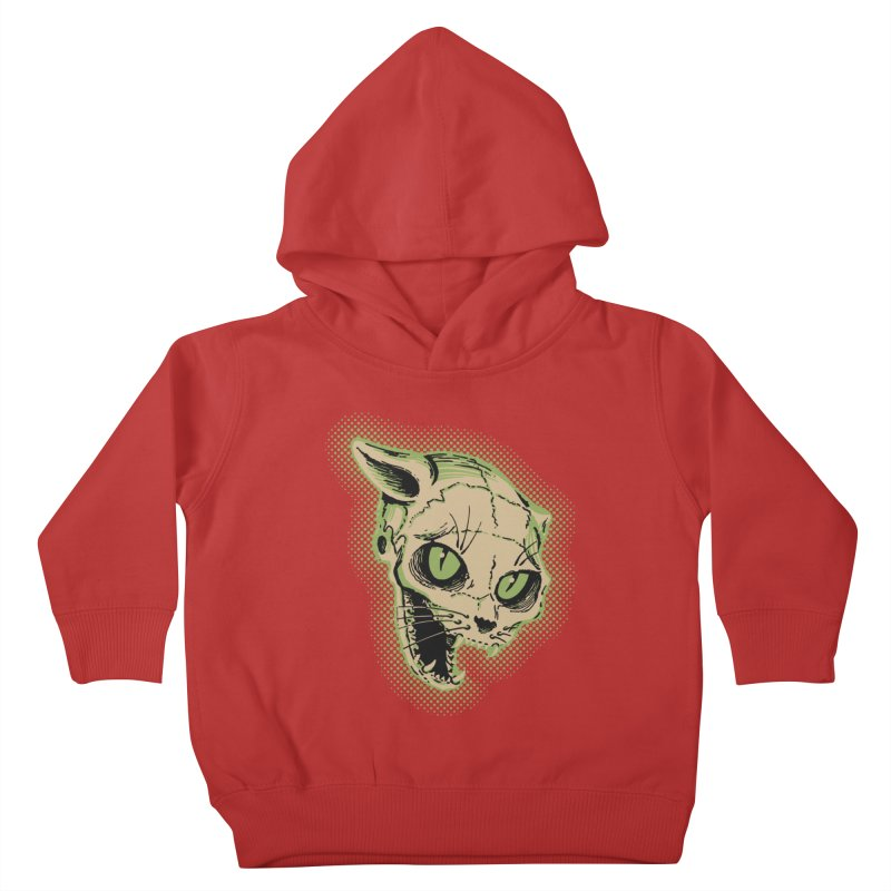 Starved Cat Kids Toddler Pullover Hoody by mostro's Artist Shop