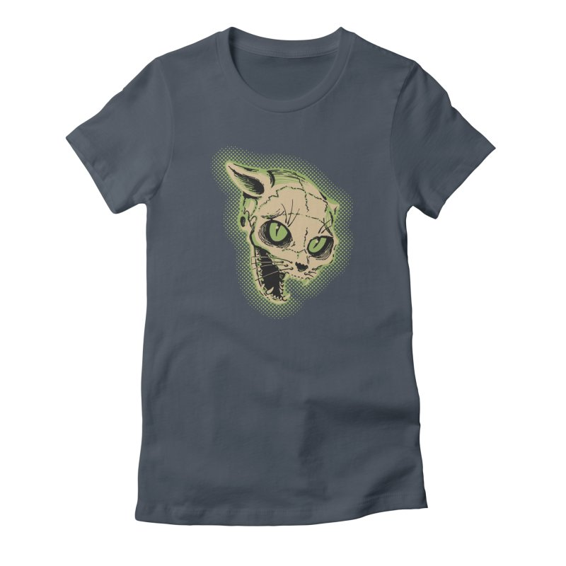 Starved Cat Women's T-Shirt by mostro's Artist Shop