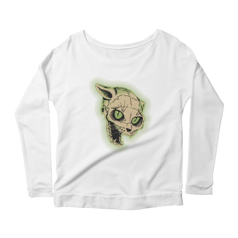 Starved Cat Women's Scoop Neck Longsleeve T-Shirt by mostro's Artist Shop