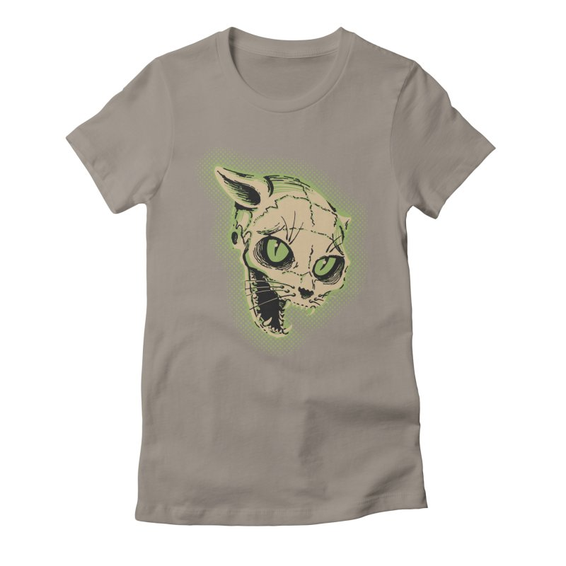 Starved Cat Women's Fitted T-Shirt by mostro's Artist Shop