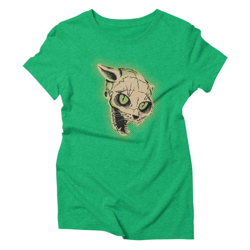 Starved Cat Women's Triblend T-Shirt by mostro's Artist Shop
