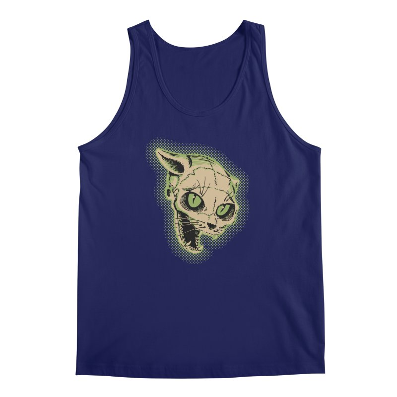 Starved Cat Men's Regular Tank by mostro's Artist Shop