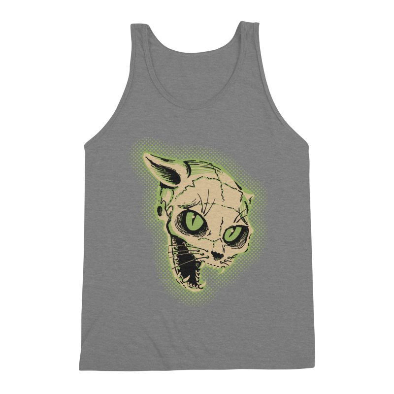 Starved Cat Men's Triblend Tank by mostro's Artist Shop