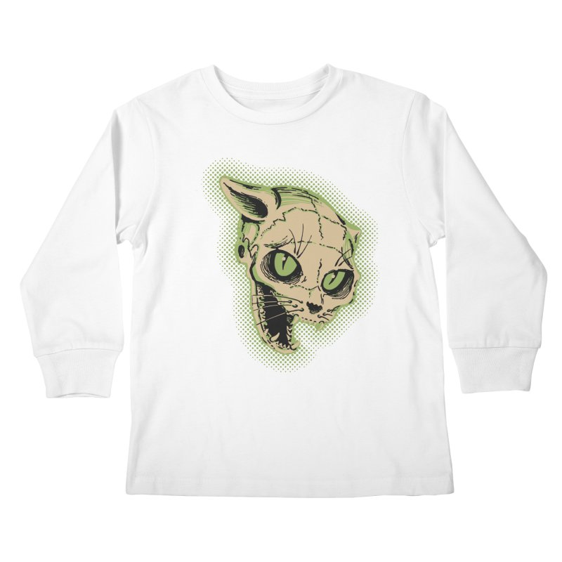 Starved Cat Kids Longsleeve T-Shirt by mostro's Artist Shop