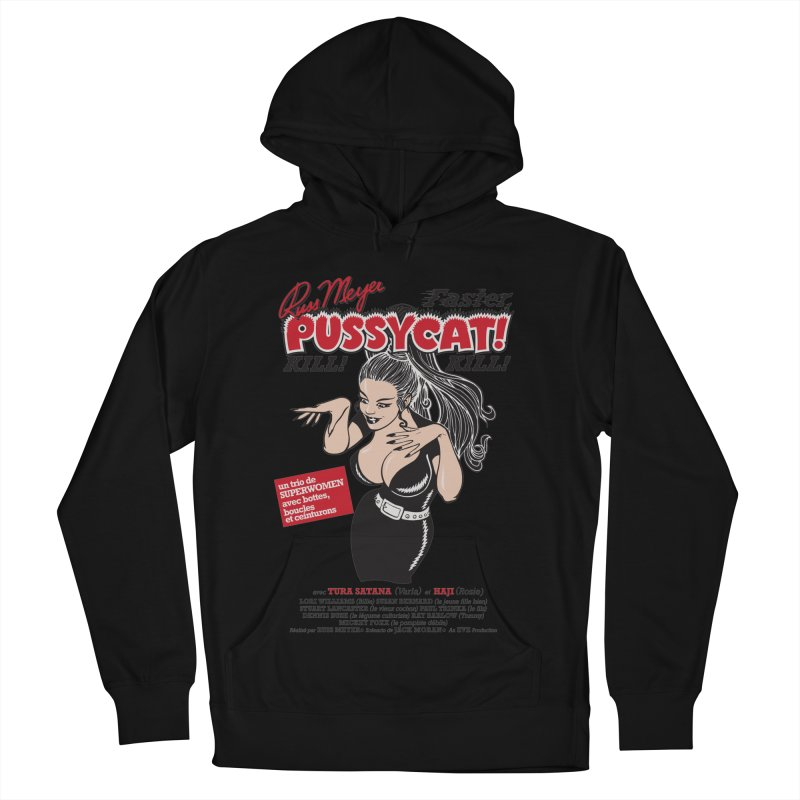 Russ Meyer Faster Pussycat! Kill! Kill! Women's French Terry Pullover Hoody by mostro's Artist Shop