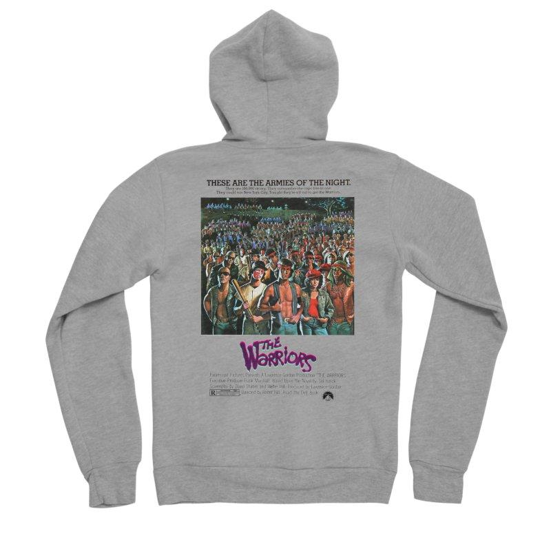 The Warriors Women's Sponge Fleece Zip-Up Hoody by mostro's Artist Shop