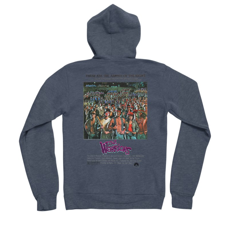 The Warriors Women's Sponge Fleece Zip-Up Hoody by mostro's Artist Shop