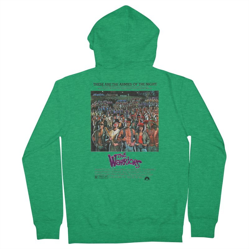 The Warriors Women's Zip-Up Hoody by mostro's Artist Shop