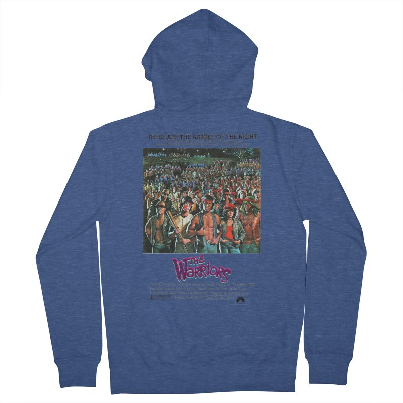 The Warriors Men's French Terry Zip-Up Hoody by mostro's Artist Shop