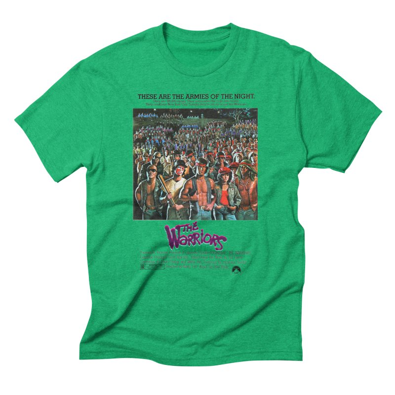 The Warriors Men's Triblend T-Shirt by mostro's Artist Shop