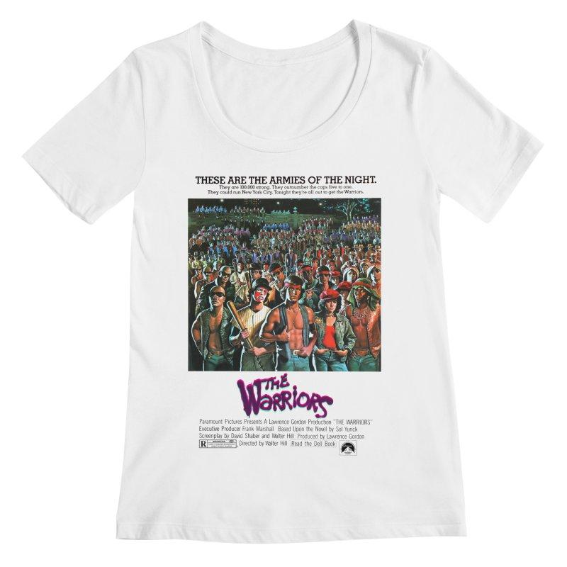 The Warriors Women's Regular Scoop Neck by mostro's Artist Shop