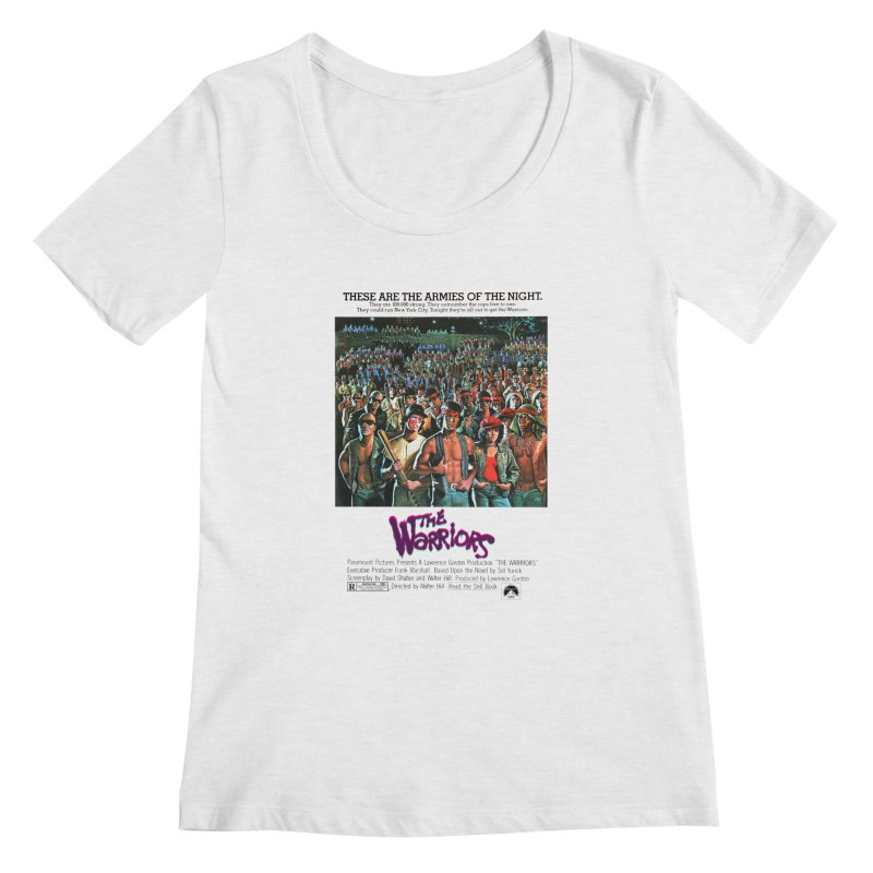 The Warriors Women's Scoop Neck by mostro's Artist Shop